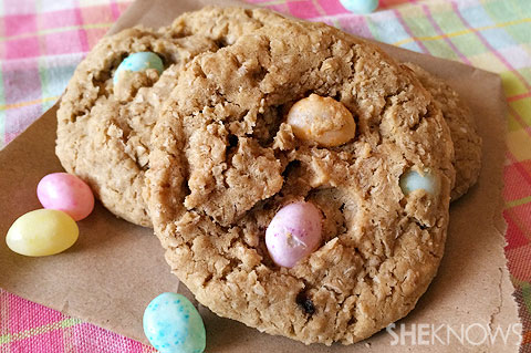 slice and bake oatmeal jelly bean cookies