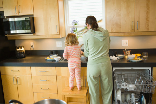 Household chores motivation: Toddlers