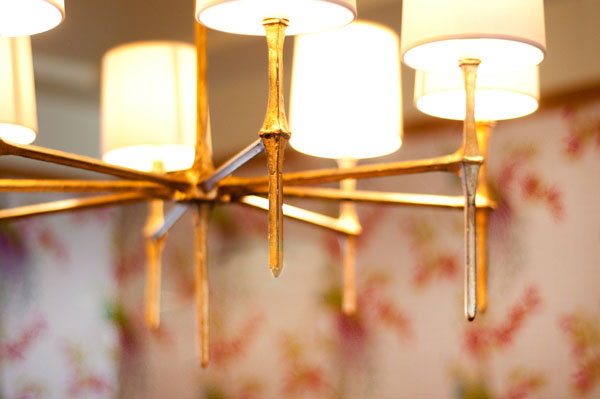 Metallic Bronze Chandelier