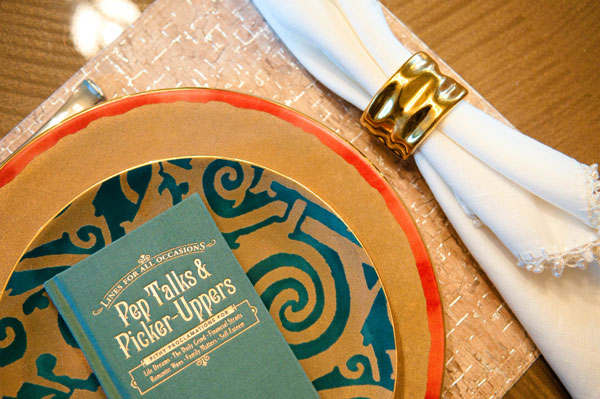 Metallic Placesetting