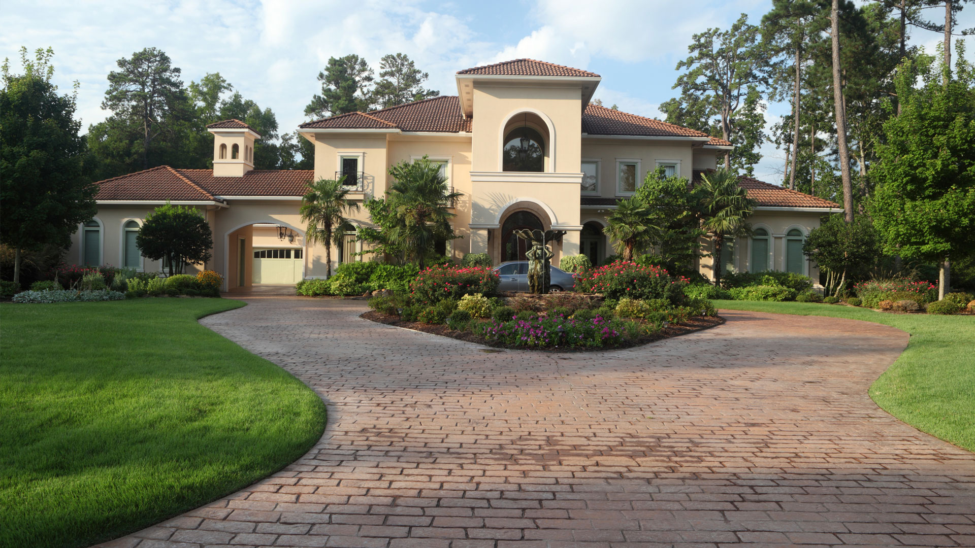 Luxury home exterior