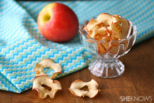 Apple and banana chips