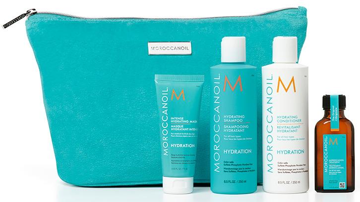 Moroccanoil Hydration Essentials Collection (moroccanoil.com, $73)