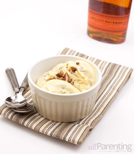 allParenting Bourbon butter pecan ice cream