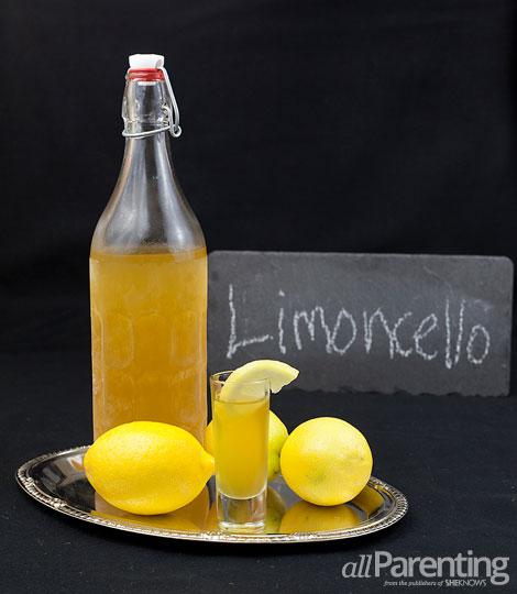 allParenting Homemade limoncello