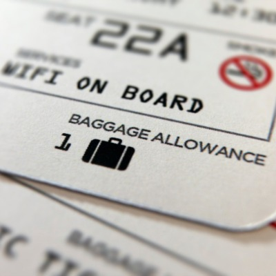 airline boarding passes