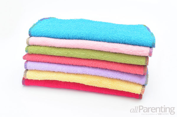 allParenting DIY cloth baby wipes step 7
