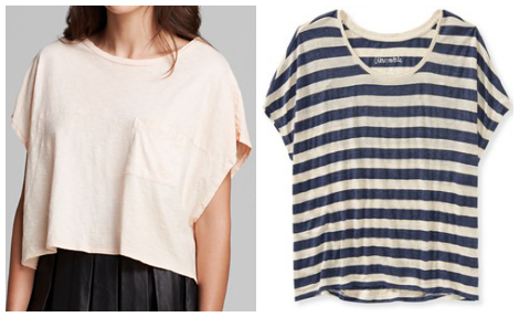 Crop tops in casual styles