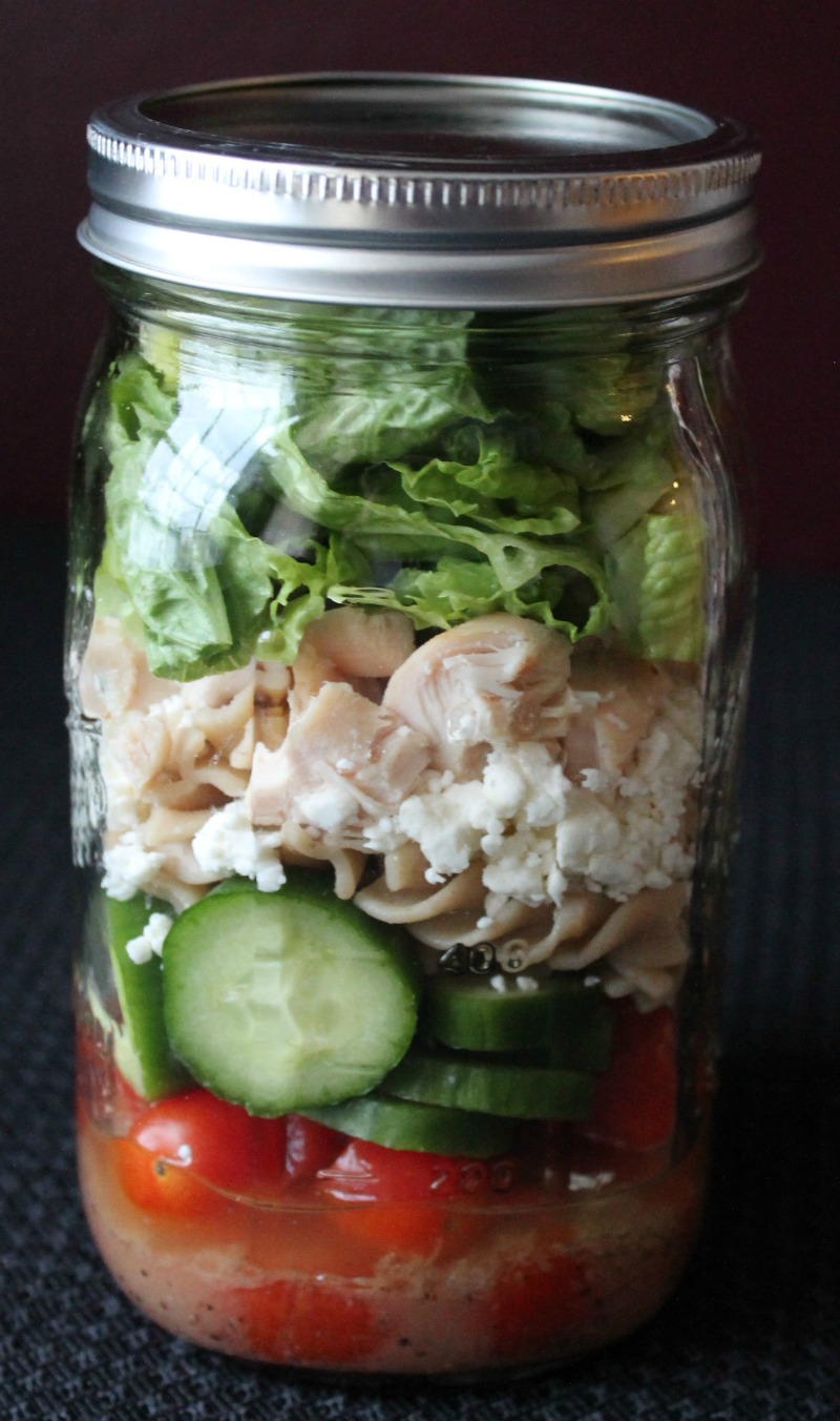 Mason jar- Mason Jar Salad