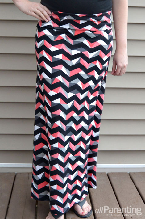 allParenting DIY maxi skirt