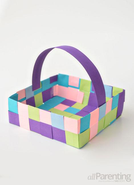 Image result for kids paper mayday basket craft
