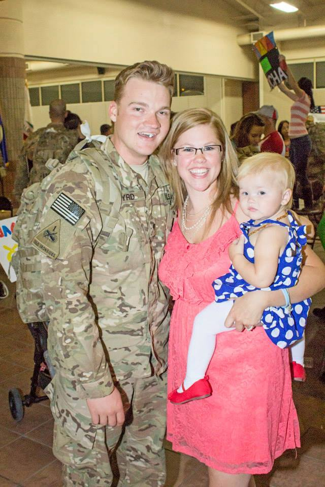 Military moms- Kaley