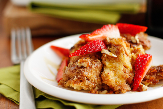 Mother's day casseroles- Easy French toast casserole