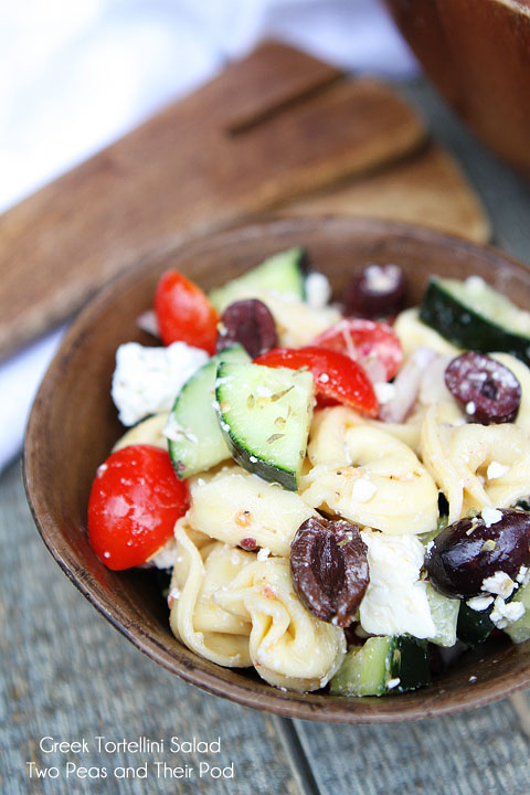 Mother's Day salad- Greek tortellini salad