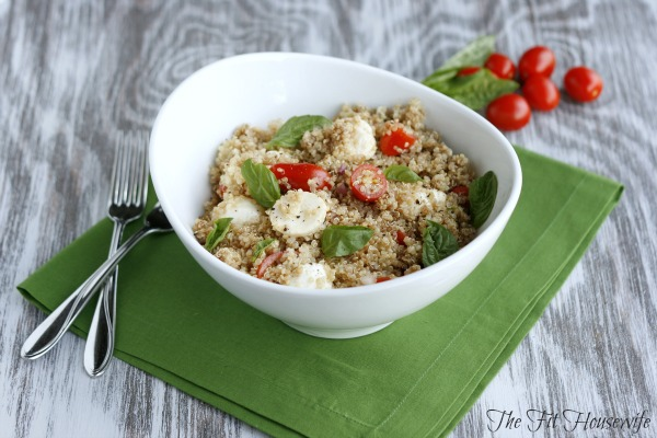 Mother's Day salads- Quinoa caprese salad