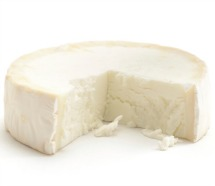 brick of soft cheese