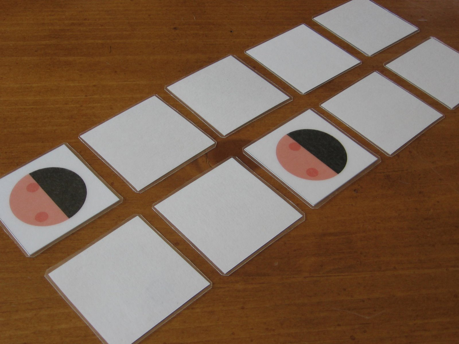 Moon phase memory game