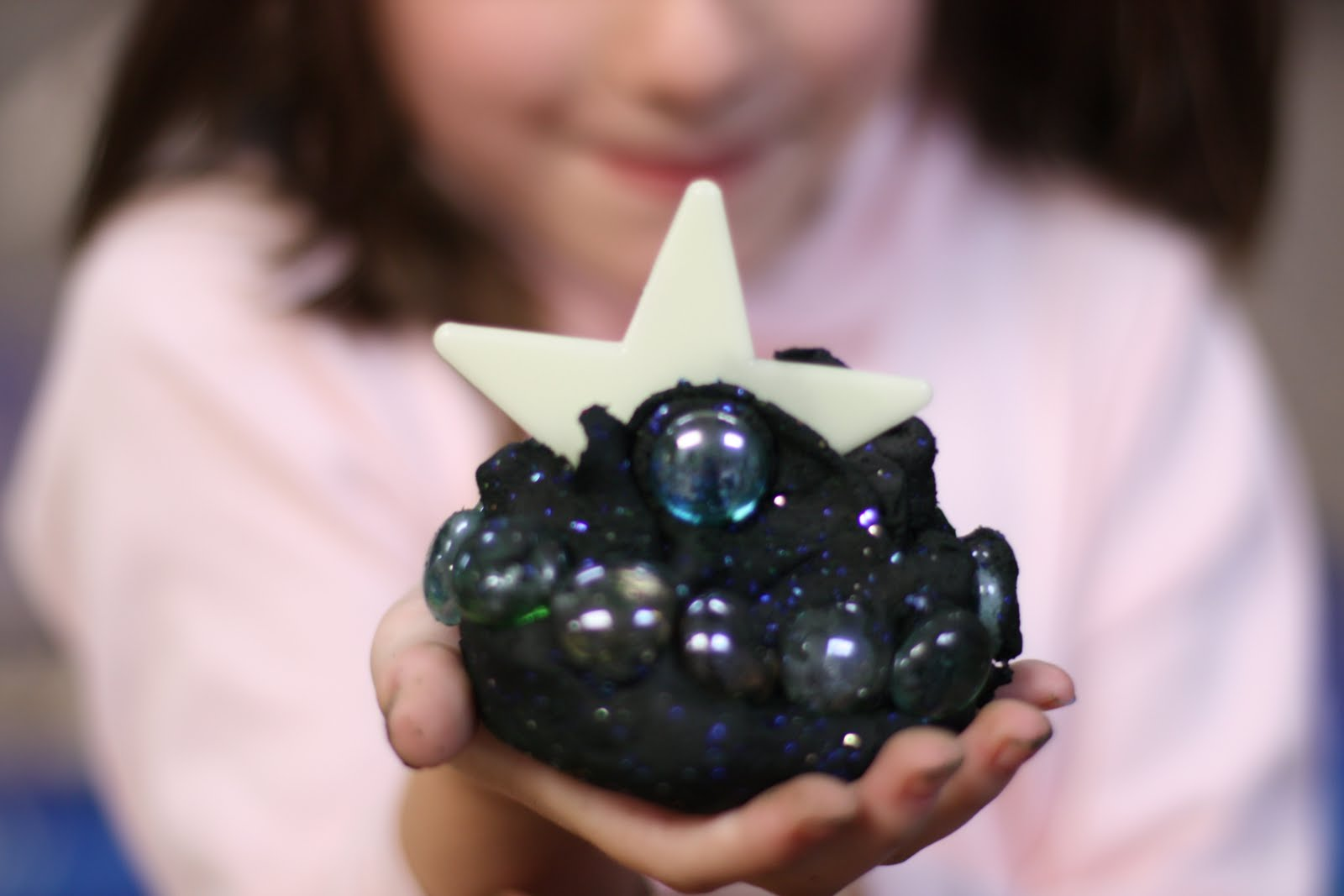 Galaxy Play-dough