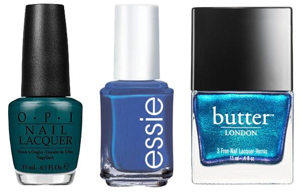 Summer nail colors- blue