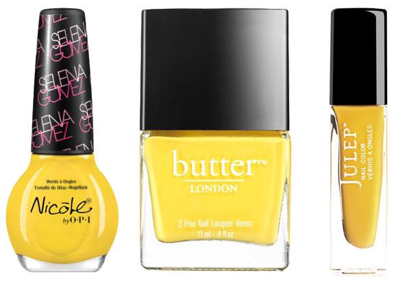 Summer nail colors- yellow