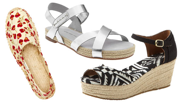Summer sandals- Espadrilles