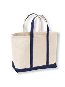 Summer totes- LL Bean Open-Top Boat and Tote Bag