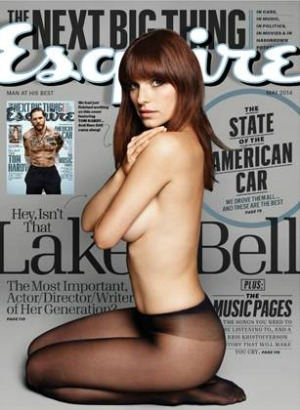 Bell and Hardy strip down for Esquire