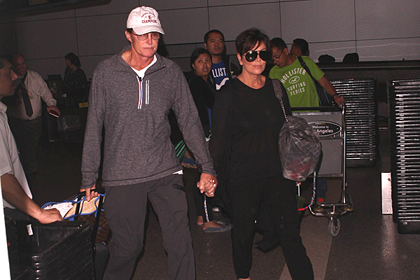 Pair fuels reunion rumors at LAX airport