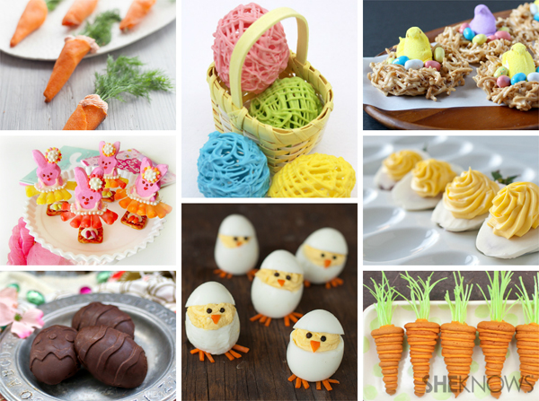 Get creative this Easter. Try one of these festive springtime treats.