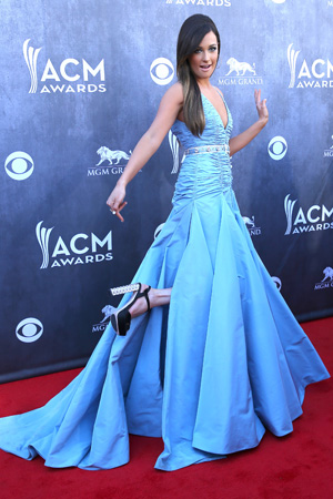 Kacey Musgraves at the Annual Academy of Country Music Award