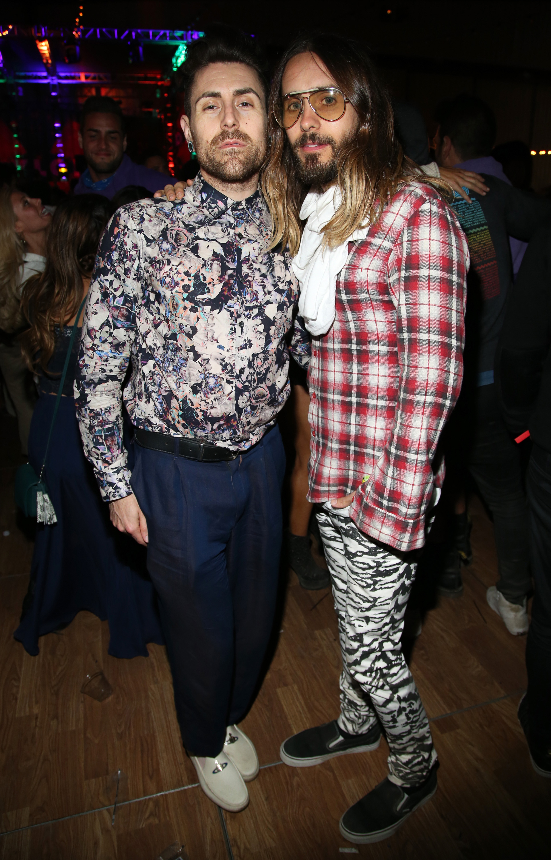 Jared Leto at Nylon party