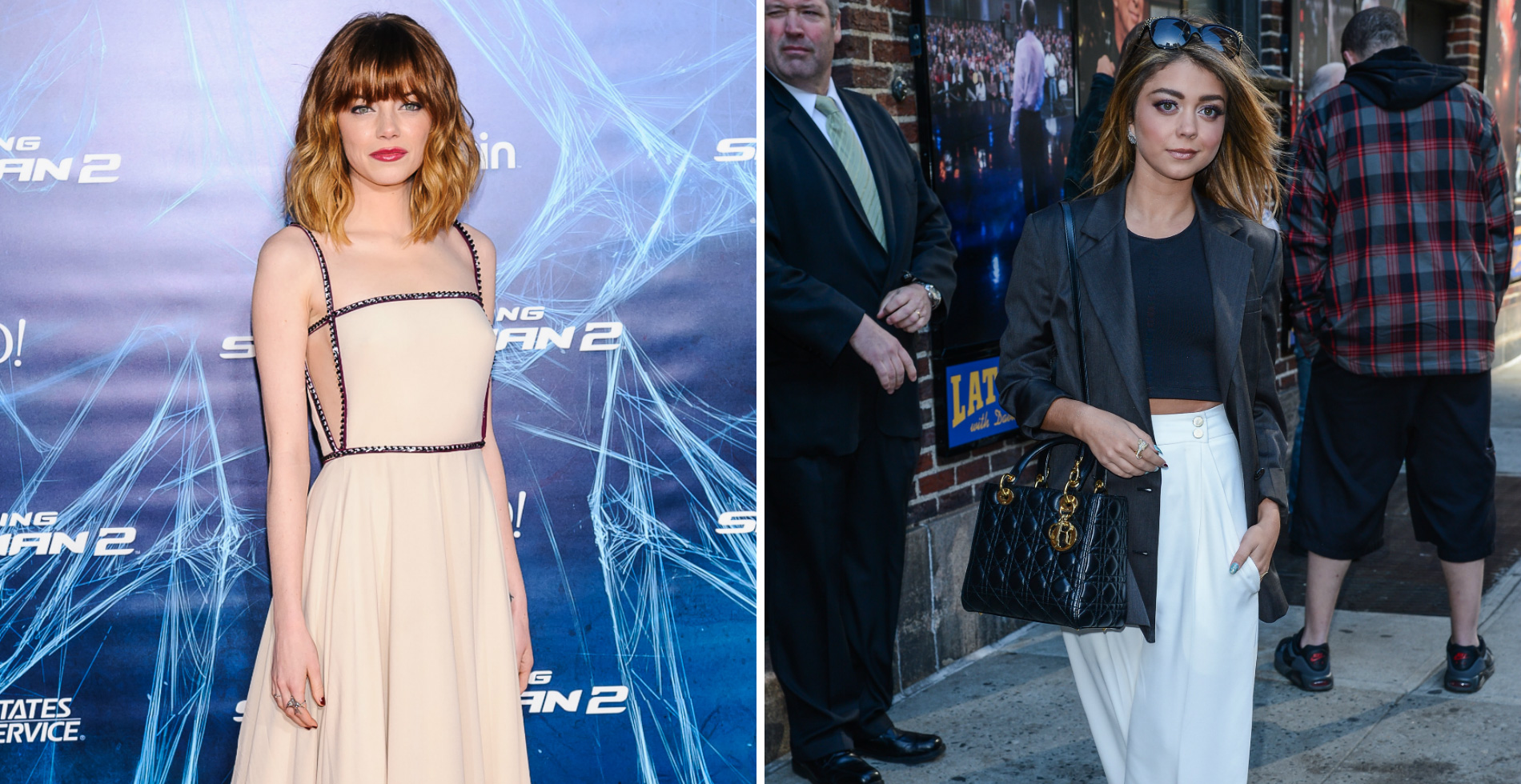 Friday's Fashion Obsessions: Emma Stone and Sarah Hyland