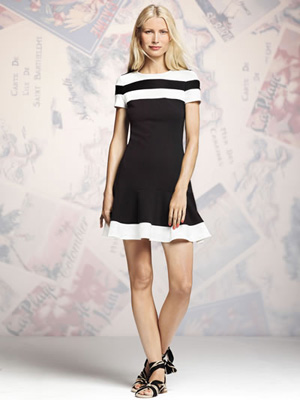 Shop the look: Peter Som for DesigNation Mermaid Dress (available April 10) (kohls.com, $68)