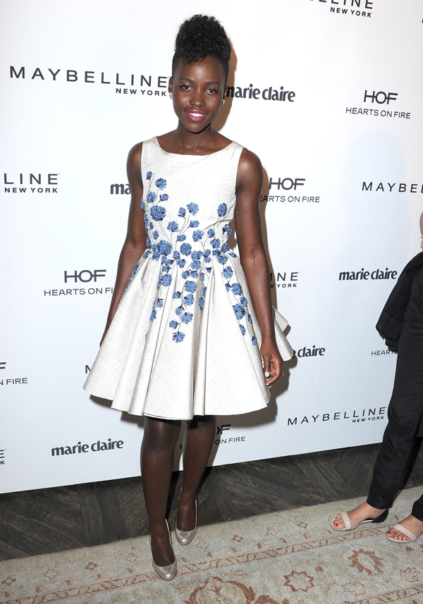 Get the look: Lupita Nyong'o's fit and flare dress