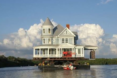 Talk about a houseboat