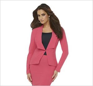 Shop the look: Kardashian Kollection Women's Crepe Blazer (sears.com, $59)