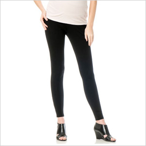 L By Jennifer Love Hewitt Secret Fit Belly® Ponte Maternity Leggings (destinationmaternity.com, $65)