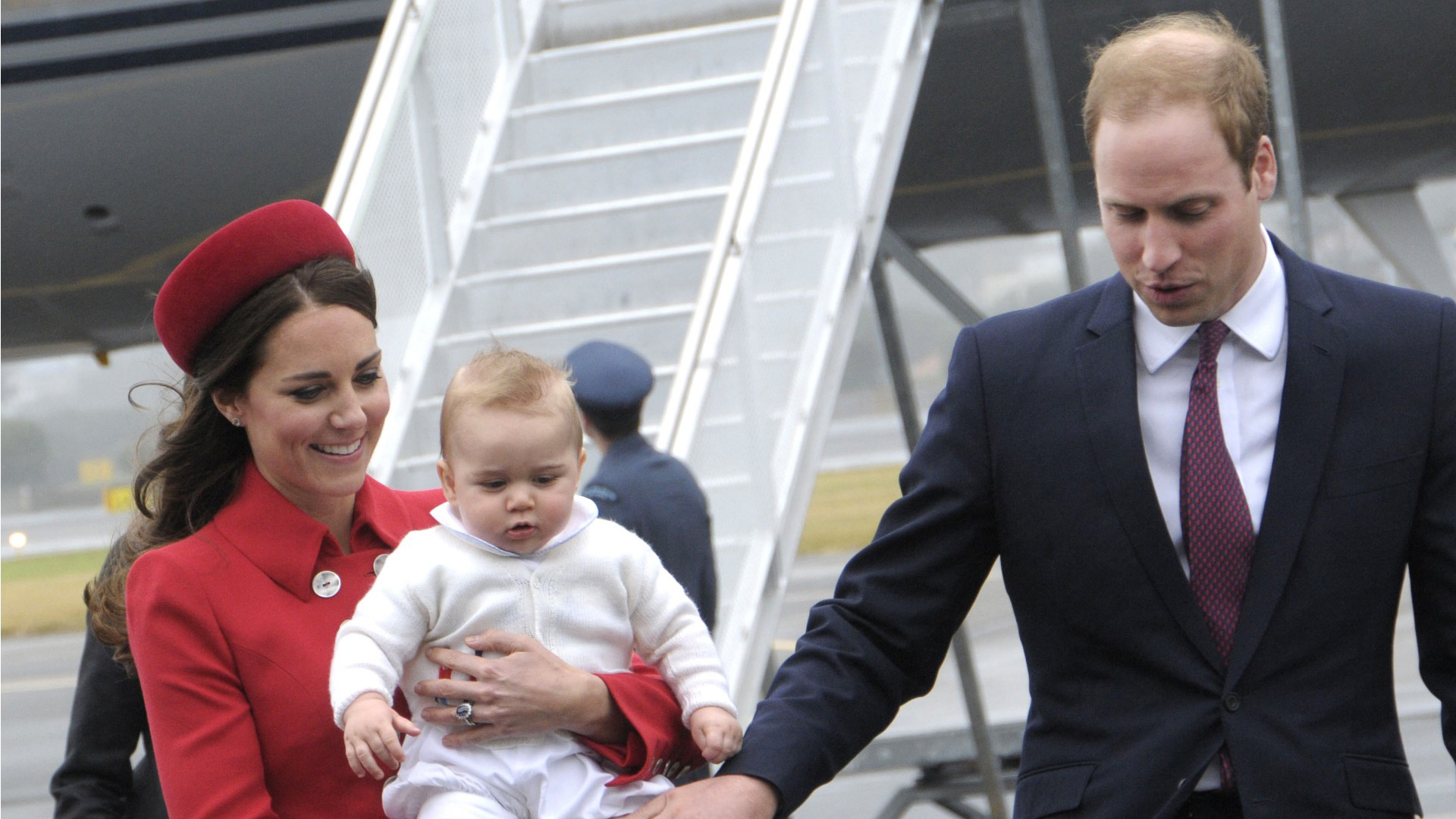 Kate Middleton, Wills and George