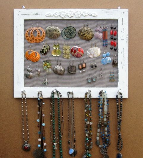 screen jewelry frame