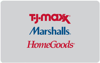 Marshalls gift card (Marshalls stores, prices vary)