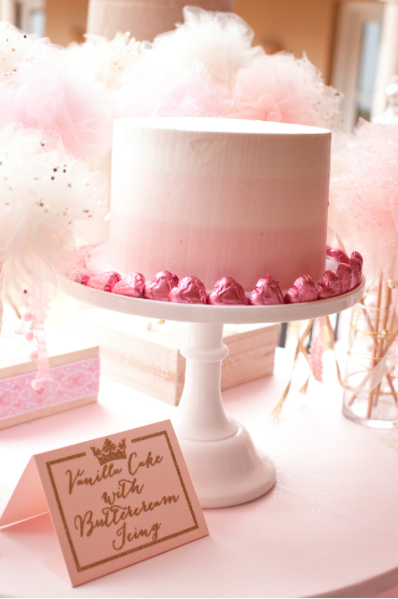 White Lilac Events: Ombre cake