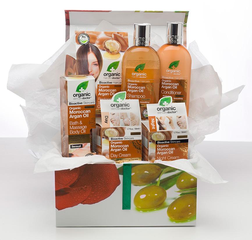 Organic Doctor Moroccan Argan Oil Gift Set (vitaminworld.com, $58)
