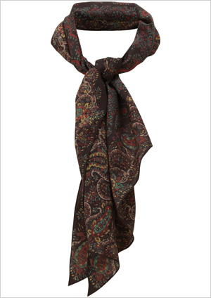 Paisley Scarf ($90)