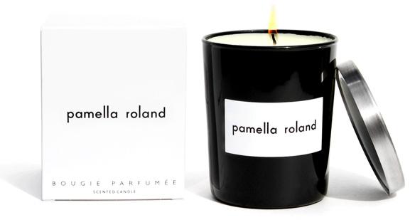 Pamella Roland Signature Candle (pamellaroland.com, $55)