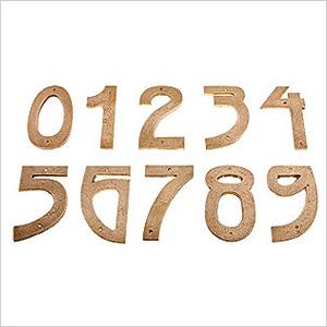 Door numbers