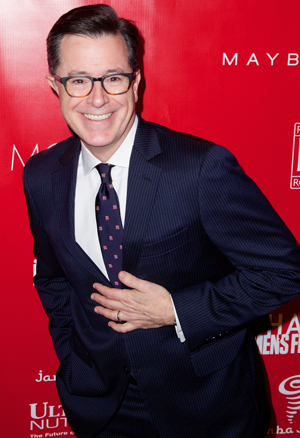 Leaves Colbert Report to replace legend