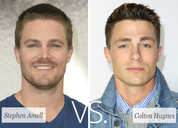 Who's hotter? Stephen Amell vs. Colton Haynes