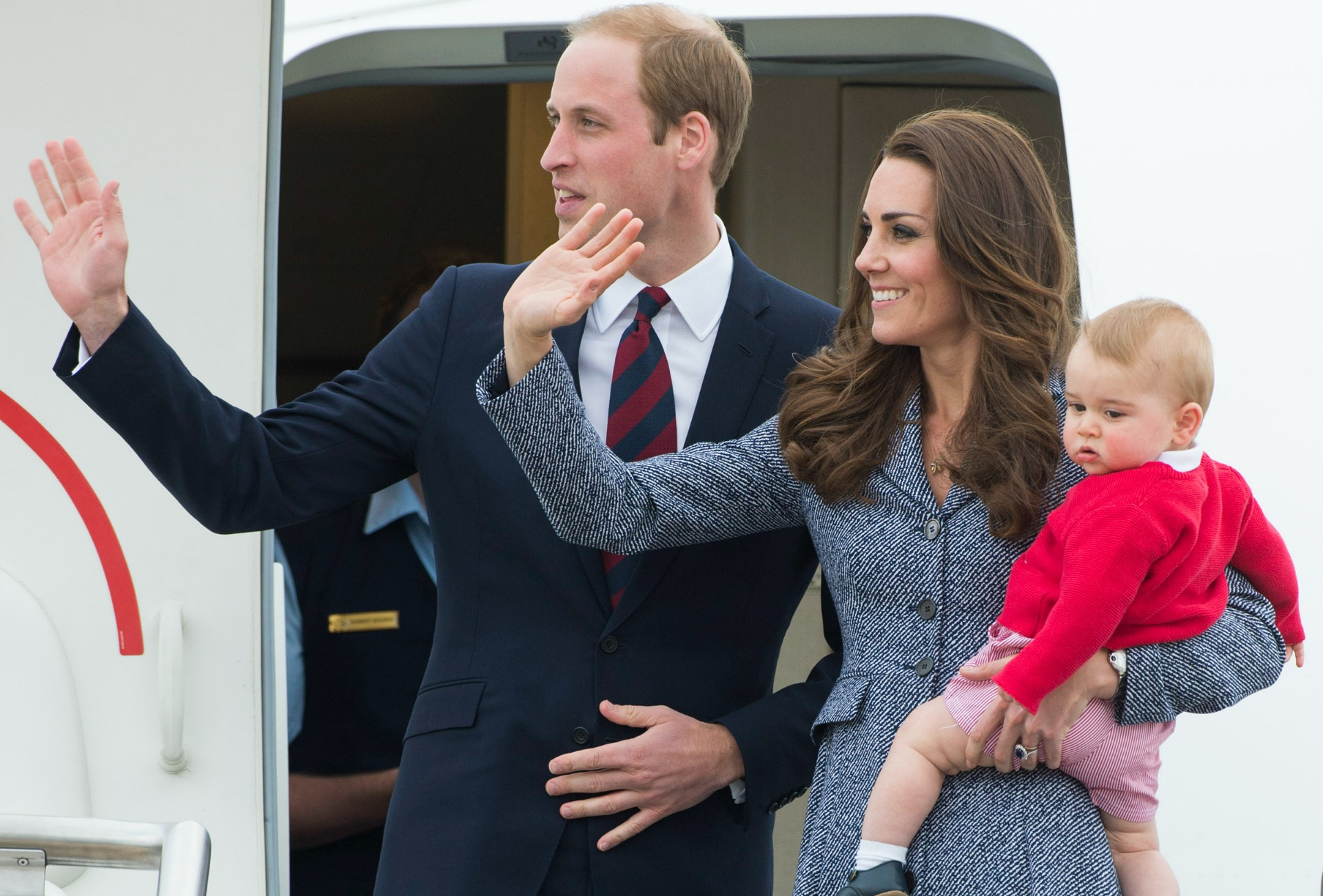 The royals head home