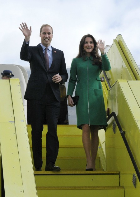 The Cambridges take New Zealand