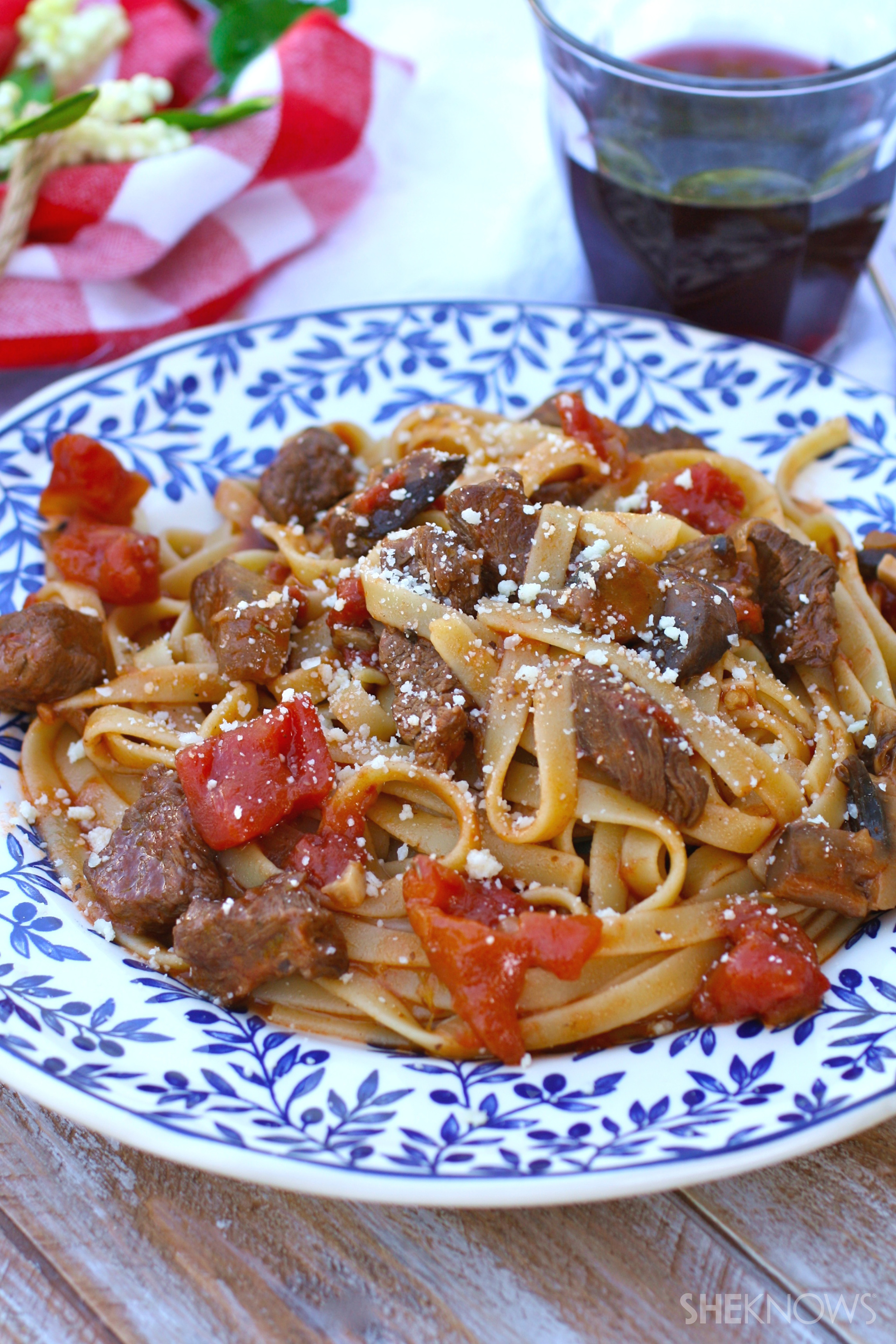 Sunday dinner: Hearty pasta with beef ragu
